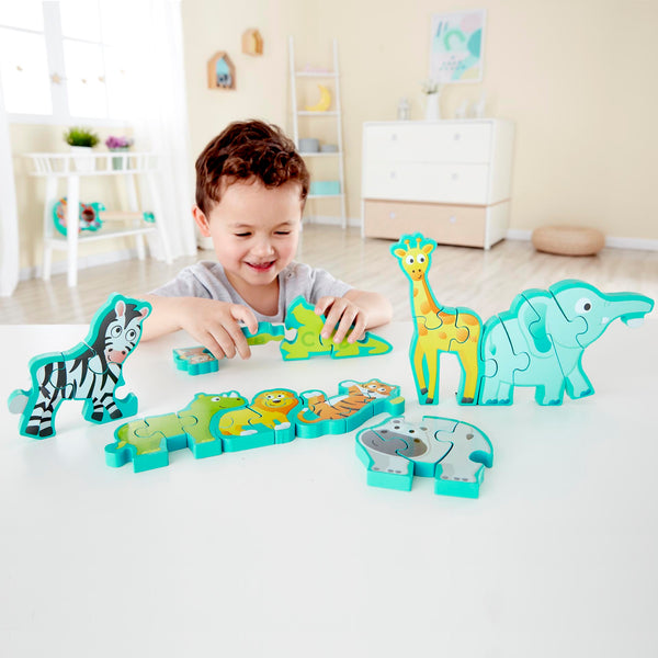 Alphabet and Animal Parade Puzzle