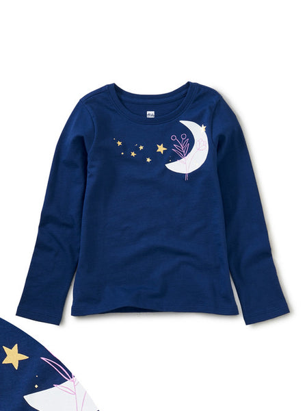 Long Sleeve Graphic Tee - Moonstruck