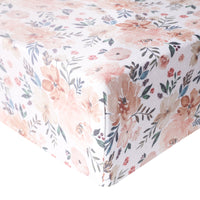 Premium Fitted Crib Sheet - Autumn