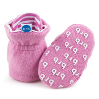 Fleece Booties - Cotton Candy