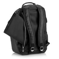 Boss Backpack - Black Herringbone
