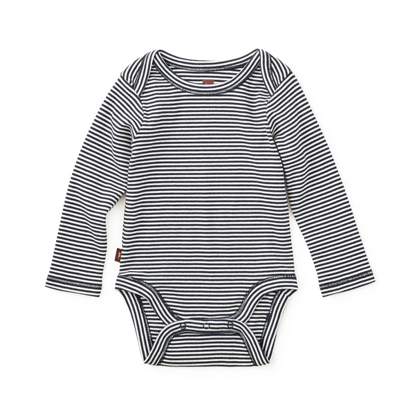 Striped Bodysuit - Heritage Blue
