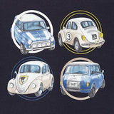 Long Sleeve T-Shirt - Navy with Cars