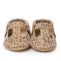 Mary Jane Moccasins - Leopard