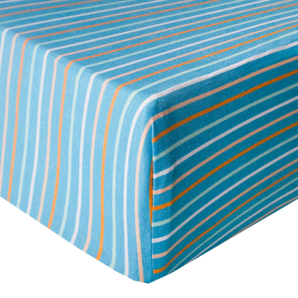 Premium Fitted Crib Sheet - Milo