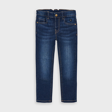 Boys' Denim - Slim Fit, Dark Wash