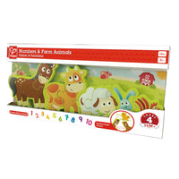 Number and Farm Animal Puzzle