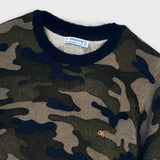 Sweater - Navy Camo