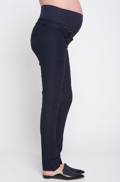 Must Have Maternity Dress Pants - Navy
