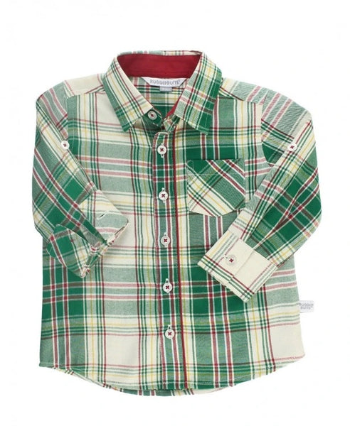 Button Up Shirt - Hollis Plaid