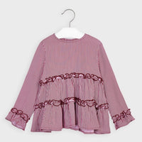 Viella Blouse - Cherry