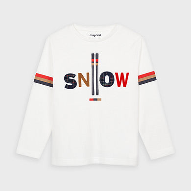 Long-Sleeve T-Shirt - Snow
