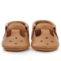 Mary Jane Moccasins - Classic Brown