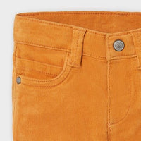 Corduroy Pants - Slim Fit, Cheddar