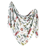Knit Swaddle Blanket - Kringle
