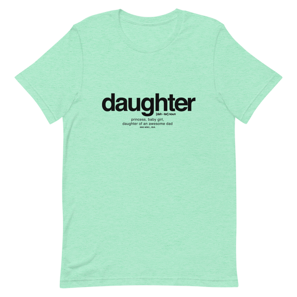 Daughter Definition Short-Sleeve Girl's T-Shirt