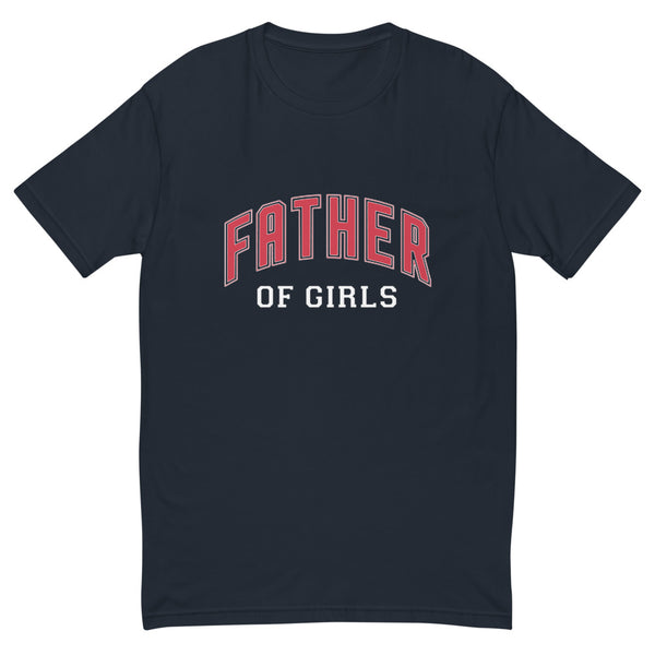 Father of Girls Short Sleeve T-shirt