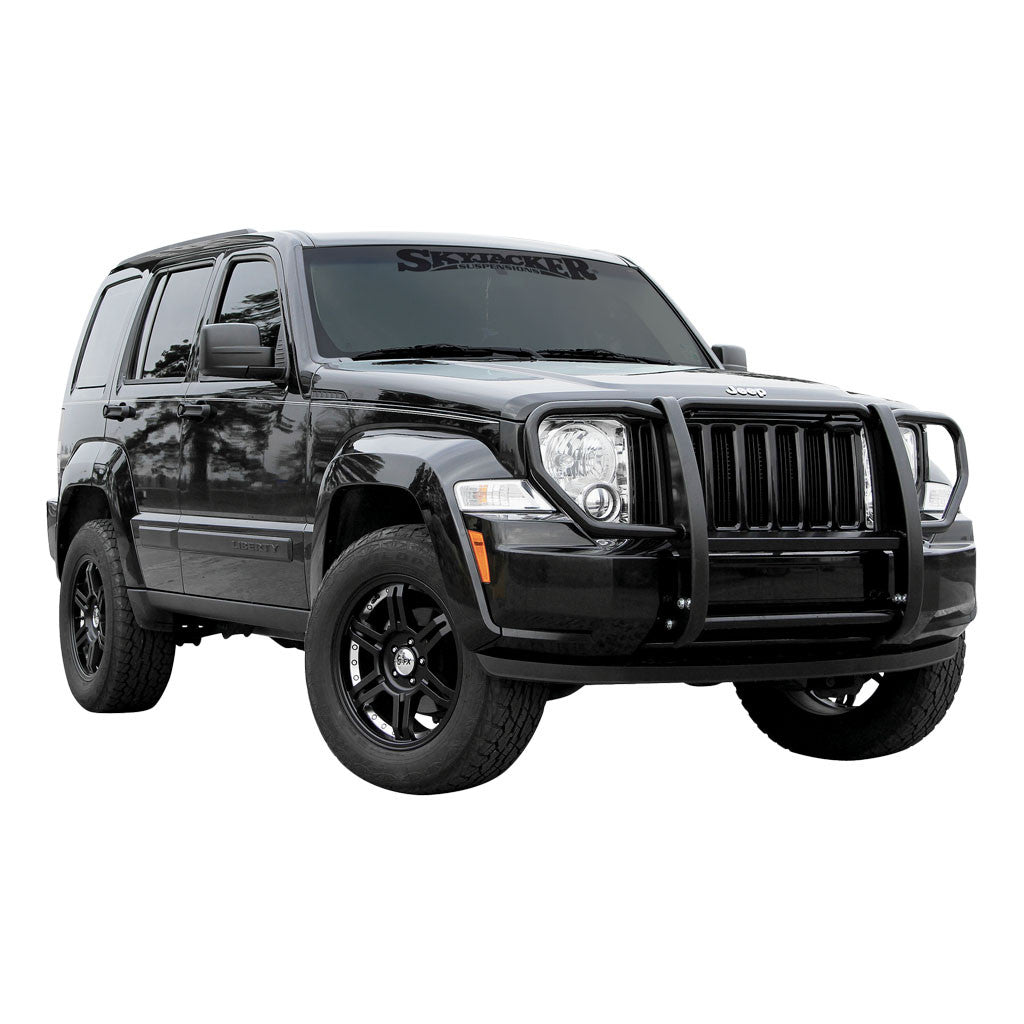 Aries 1051 Grille Guard For Jeep Liberty (Semi-gloss Black