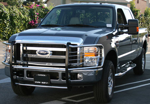 Aries 3061-2 Grille Guard for Ford F-250/F-350/F-450/F-550 (Polished Stainless)