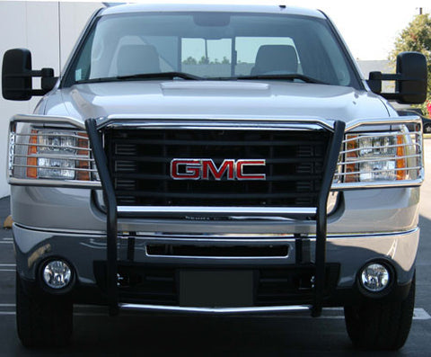 Aries 4071-2 Grille Guard for GMC Sierra (Polished Stainless)