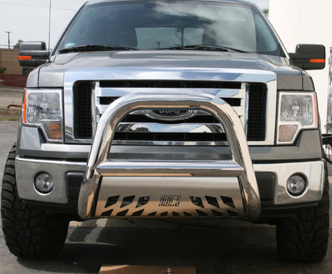 Aries 45-3007 Bull Bar for Ford F-150 (Polished Stainless)