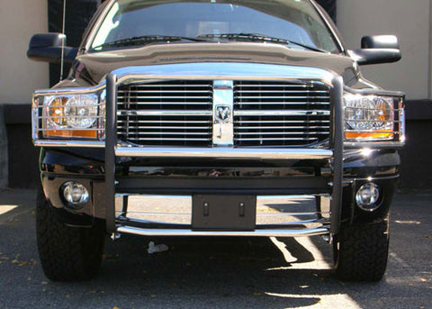 Aries 5046-2 Grille Guard for Dodge Ram (Polished Stainless)