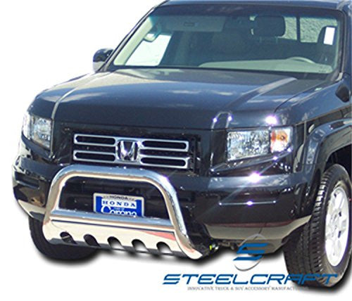 Steelcraft 75010 Bull Bar For Honda Ridgeline Pilot Stainless Steel Radoauto