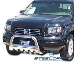SteelCraft 75010 Bull Bar for Honda Ridgeline/Pilot (Stainless Steel)