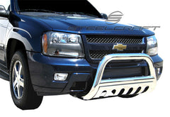 SteelCraft 70120 Bull Bar for Chevrolet Trailblazer, GMC Envoy/Trailblazer (Stainless Steel)