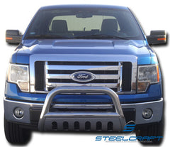 SteelCraft 71090B Bull Bar for Ford F-150/Expedition (Black)