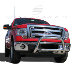SteelCraft 71090 Bull Bar for Ford F-150/Expedition (Stainless Steel)