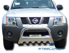 SteelCraft 74150 Bull Bar for Nissan Pathfinder (Stainless Steel)