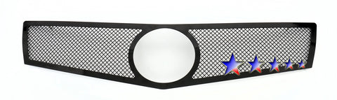 APS A75952H Mesh Grille for Cadillac ATS (Black Powder Coated) - Main Upper