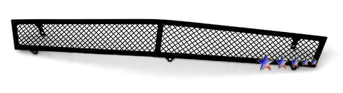 APS A76578H Black Wire Mesh Grille for Cadillac CTS (Black Powder Coated) - Lower Bumper