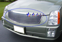 APS A85361A Aluminum Billet Grille for Cadillac SRX (Polished) - Main Upper