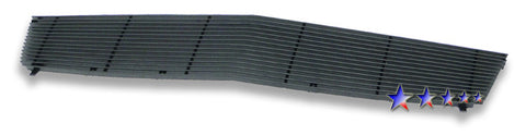APS A85361H Black Aluminum Billet Grille for Cadillac SRX (Black Powder Coated) - Main Upper