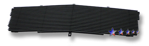 APS A85366H Black Aluminum Billet Grille for Cadillac Escalade (Black Powder Coated) - Main Upper