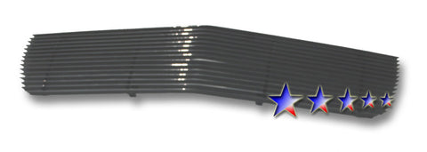 APS A86814H Black Aluminum Billet Grille for Cadillac Eldorado (Black Powder Coated) - Main Upper