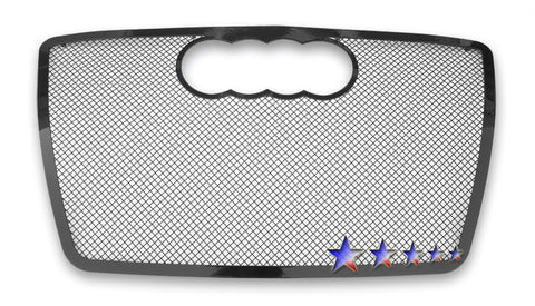 APS B75537H Black Wire Mesh Grille for Audi Q7 (Black Powder Coated) - Main Upper