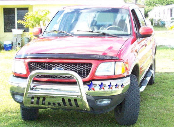 aps bb faks bull bar  ford expeditionf   polished radoauto