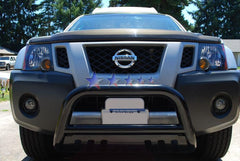 APS BB-NAK022B Bull Bar for Nissan Frontier/Pathfinder/Xterra (Black Powder Coated)