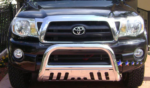 APS BB-TAK023S Bull Bar for Toyota Tacoma (Polished)