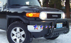 APS BB-TAK026B Bull Bar for Toyota FJ Cruiser (Black Powder Coated)