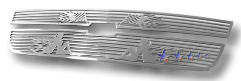 APS C25747B Symbolic Grille for Chevrolet Colorado (Polished) - Main Upper