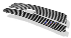 APS C65329A Aluminum Billet Grille for Chevrolet Avalanche (Polished) - Main Upper