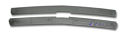 APS C65701A Aluminum Billet Grille for Chevrolet Silverado/Suburban/Tahoe (Polished) - Main Upper
