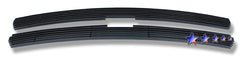 APS C65701H Black Aluminum Billet Grille for Chevrolet Silverado/Suburban/Tahoe (Black Powder Coated) - Main Upper