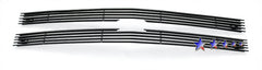 APS C65716H Black Aluminum Billet Grille for Chevrolet Blazer (Black Powder Coated) - Main Upper