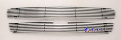 APS C65717A Aluminum Billet Grille for Chevrolet Avalanche/Silverado (Polished) - Main Upper