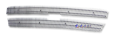 APS C65717V Aluminum Billet Grille for Chevrolet Avalanche/Silverado (Polished) - Main Upper